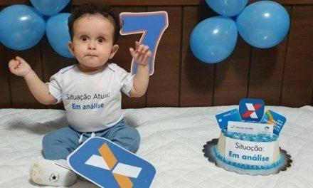Auxílio emergencial de R$ 600 é tema de festa infantil