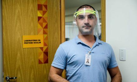 Governo viabiliza produção de 3 mil protetores faciais para rede de saúde do Pará