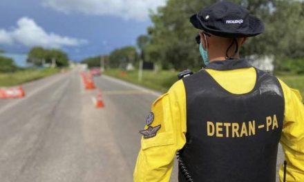 Detran fará operações para fiscalizar cumprimento do 'lockdown'