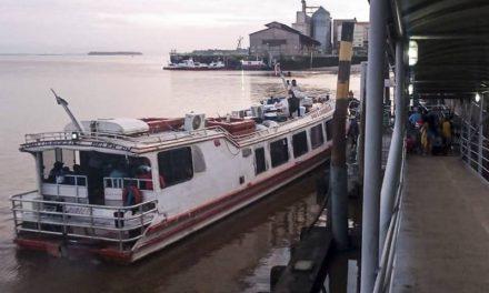 Agentes da Arcon fiscalizam terminais rodoviários e hidroviários no Pará