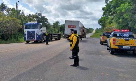 Fiscalização do Detran segue por todo o Pará para garantir lockdown