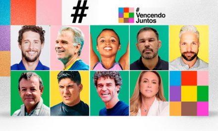 Vencendo Juntos: campanha supera R$1 milhão em doações e ganha apoio de Federer e Djokovic