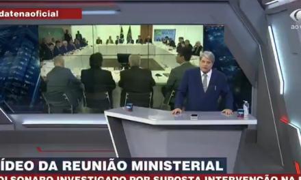 Datena diz que não entrevistará mais Bolsonaro após acusação do presidente da Caixa à Band
