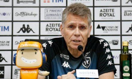 Autuori, do Botafogo, critica volta aos treinos: 'As pessoas não têm o mínimo de sensibilidade'