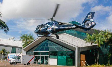 Aeronave do Governo do Estado transporta paciente do Marajó para Belém