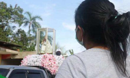 Imagens de Nossa Senhora de Nazaré percorre as ruas de Vigia de Nazaré