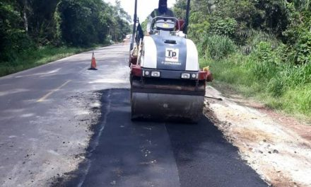 Obras na PA-151 chegam ao trecho de Igarapé Miri a Mocajuba
