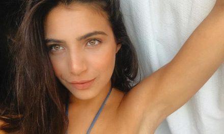 Rayssa Bratillieri faz ensaio por vídeo chamada e revela o que deseja no pós-quarentena: 'Pular de paraquedas'