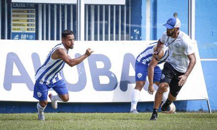 Paysandu prevê um mês de treinos para que atletas entrem em forma
