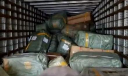 Cinco toneladas de material contrabandeado são aprendidas em Bragança