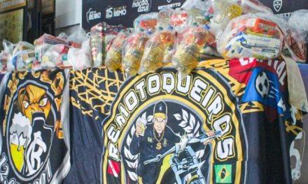 Torcedores se unem para doar cestas básicas a funcionários do Clube do Remo