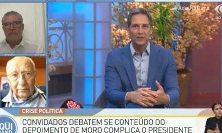 Lacombe rescindiu contrato com a Band após colocar pautas favoráveis a Jair Bolsonaro