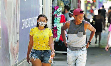 Parte da população anda sem máscara em Belém mesmo com pandemia ativa