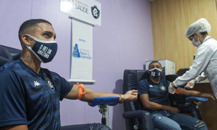 Elenco e funcionários do Remo passam por exames de Covid-19 e tomografia neste sábado