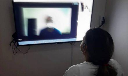 Projeto 'Vídeo-visita' beneficia internos do Complexo Penitenciário de Marituba
