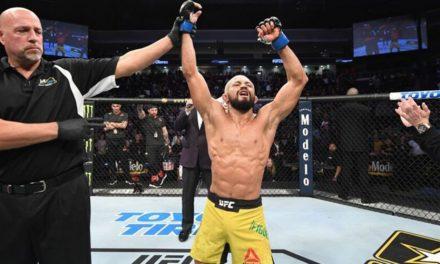 Lutador paraense é liberado para disputar o cinturão do UFC