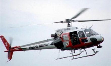 Policial cai de helicóptero durante treinamento no interior de SP