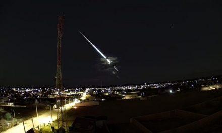 Meteoro brilhante é visto no Sertão de Pernambuco e especialistas explicam fenômeno