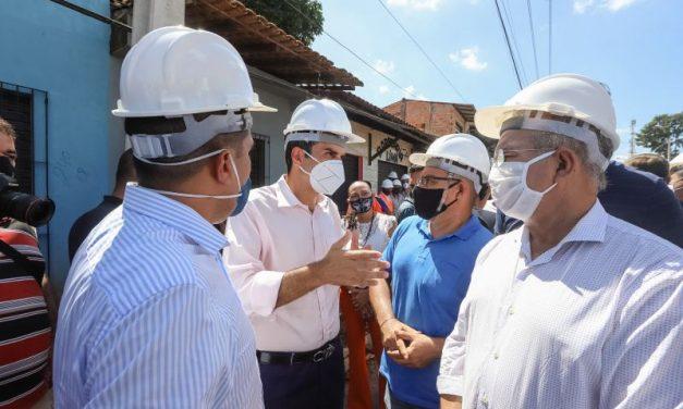 Governo define data para entrega da rodovia Tapanã e rua Padre Bruno Sechi