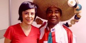 Fernanda Takai usa as redes sociais para lembrar de parceria com Pinduca no Festival Se Rasgum