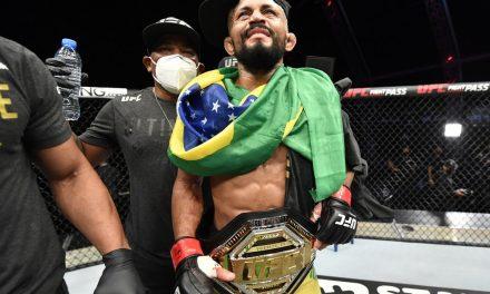 Implacável, Deiveson Figueiredo atropela Joseph Benavidez e é campeão peso-mosca do UFC