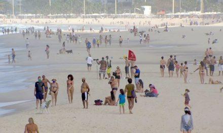 Domingo tem orla da Zona Sul do Rio sem aglomeração, mas com desrespeito às normas