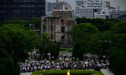 Japão recorda 75 anos da primeira bomba atômica em Hiroshima