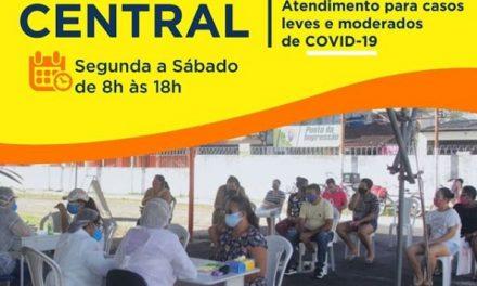 Atendimentos contra covid-19 seguem em Ananindeua