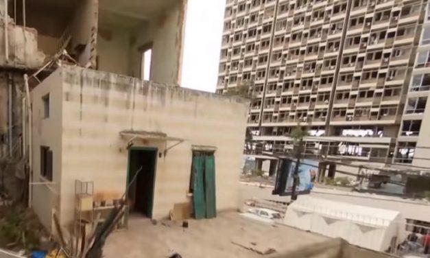 Drone mostra destruição em prédios e casas de Beirute após explosão; veja vídeo