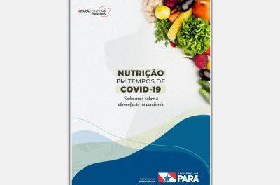 Sespa edita novo manual sobre cuidados com a alimentação na pandemia