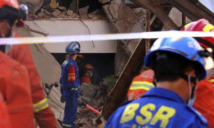 Desabamento de restaurante no norte da China deixa mortos