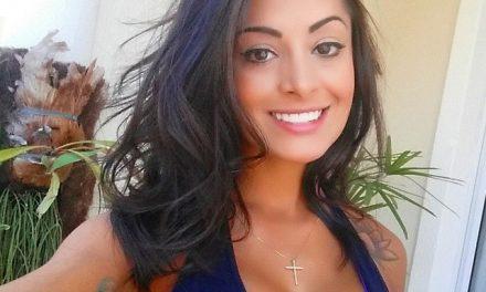 Aline Riscado é contratada para reality de futebol do SBT