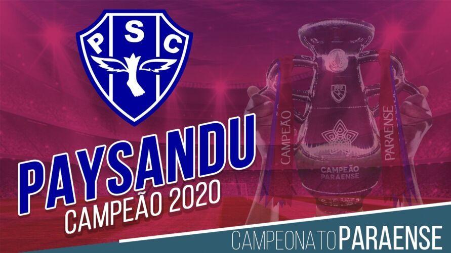 Paysandu marca no finzinho e garante a taça do Parazão 2020