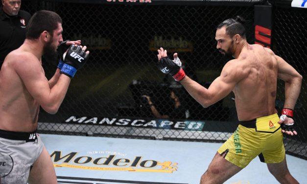"""Paraense Voador explica tapas em russo no UFC: """"Para aprender a não fazer isso e respeitar rivais"""""""