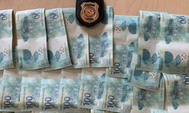 Homem é preso após receber notas falsas pelos correios no Pará