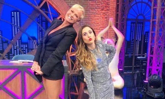 Xuxa grava com Tatá Werneck e acende boato de retorno à Globo
