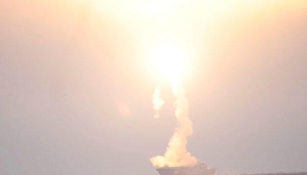 Rússia testa com sucesso novo míssil hipersônico Tsirkon
