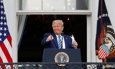 Trump não transmite mais a Covid-19, diz médico da Casa Branca
