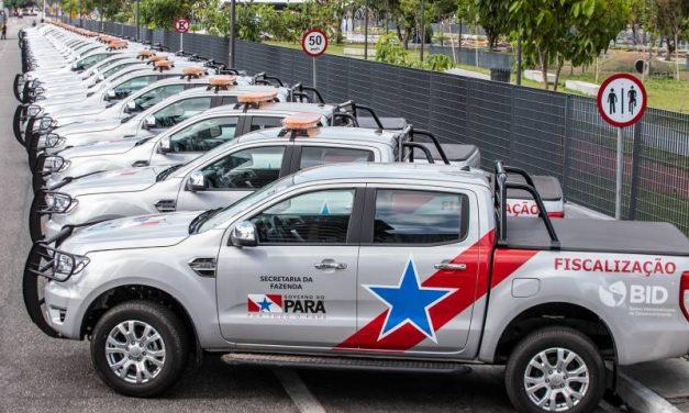 Novos veículos entregues pelo Governo reforçam ações de fiscalização da Sefa