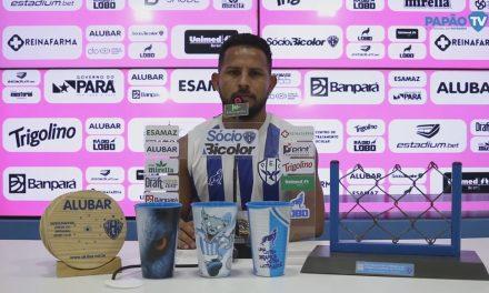 """Elielton confia em recuperação do Paysandu na Série C e ressalta: """"Só vai conseguir com trabalho"""""""