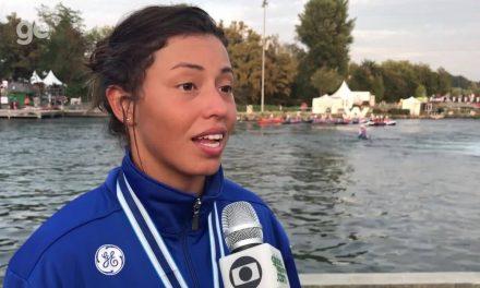 Ana Sátila fatura ouro inédito para o Brasil no C1 na Copa do Mundo de canoagem slalom