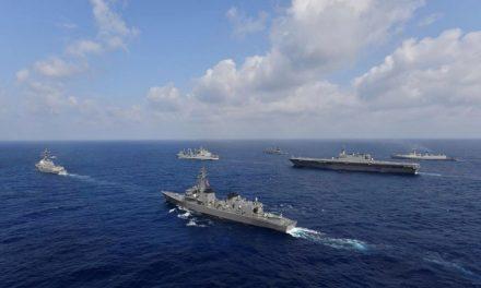 Austrália se junta aos EUA, Japão e Índia em exercícios navais no Oriente Médio e Ásia