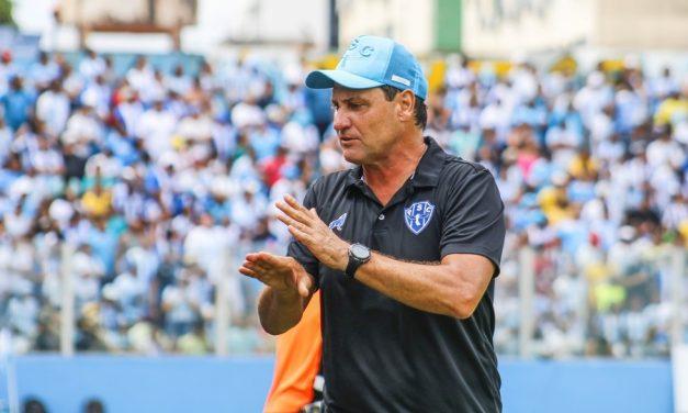 Horas após Brigatti confirmar negociação, Paysandu anuncia retorno do treinador ao clube