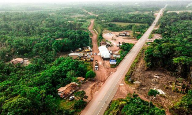 Governo inicia a construção e pavimentação da Perna Leste, no complexo da Alça Viária