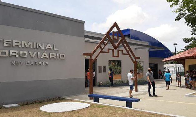 Terminal hidroviário Ruy Barata é inaugurado no bairro da Condor