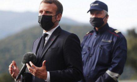 Macron reforça segurança nas fronteiras francesas após atentado em Nice