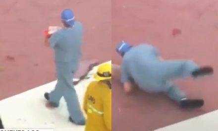 Médico deixa coração cair no chão após acidente de helicóptero