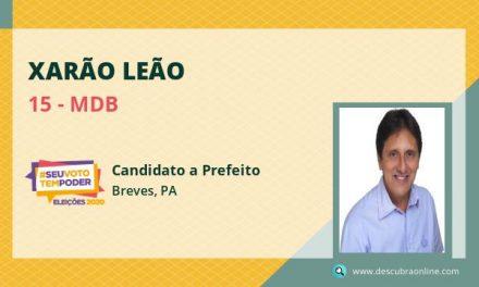 Xarão Leão, do MDB, tem maioria dos votos em Breves, mas candidatura está sub judice