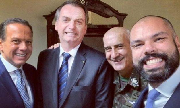 Após web resgatar foto com Bolsonaro, Covas diz que anulou voto em 2018
