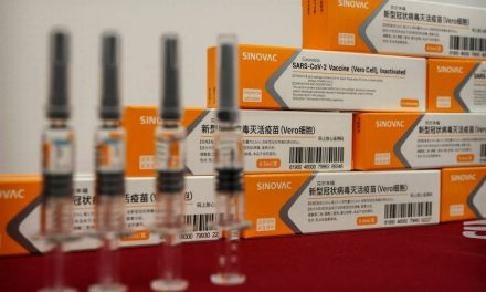 Lote com as primeiras 120 mil doses da vacina CoronaVac chega a São Paulo trazido da China